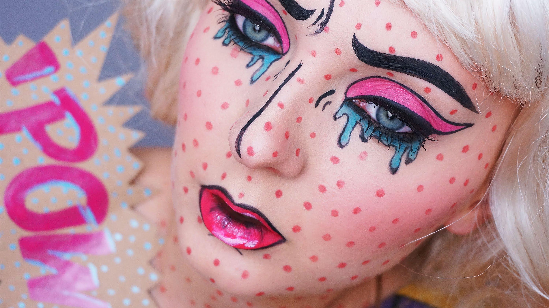 Comment créer un maquillage pop art/digne d'une bande dessinnée?
