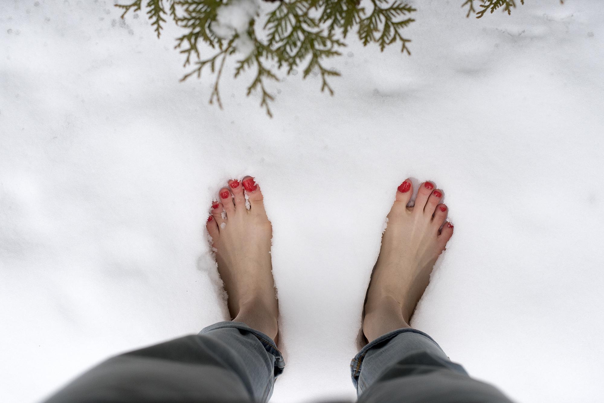Soins des pieds recommandés en hiver