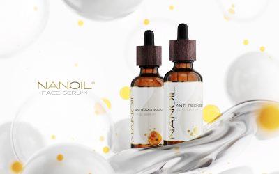 Nanoil sérum conçu pour traiter les rougeurs du visage