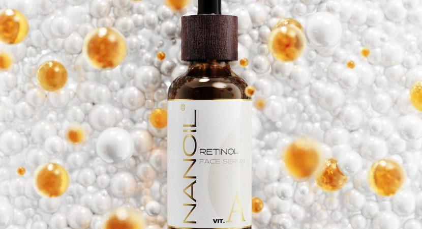 sérum pour le visage au rétinol Nanoil